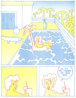 I was invited to make a comic for the publication 'Colorama Clubhouse'#6. Clubhouse is a collaboration project hosted by COLORAMA and Aisha Franz. 4 pages.